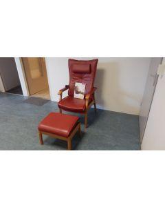 895 Verstelbare relax/fauteuil/stoel Prominent Farstrup