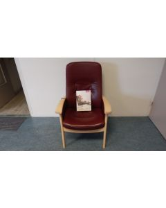 862 Relax fauteuil/stoel Prominent Farstrup leder Medium