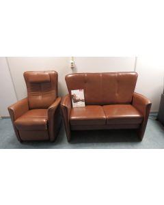 380 Div. setjes Prominent Bankjes en sta/op relax/fauteuils